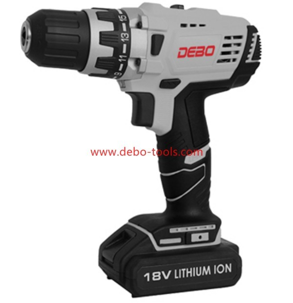18V Professional Cordless Driver Drill