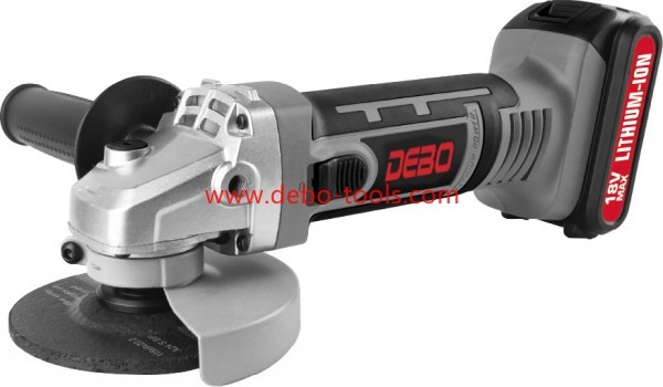 18V/20V Li-ion Battery Cordless Angle Grinder