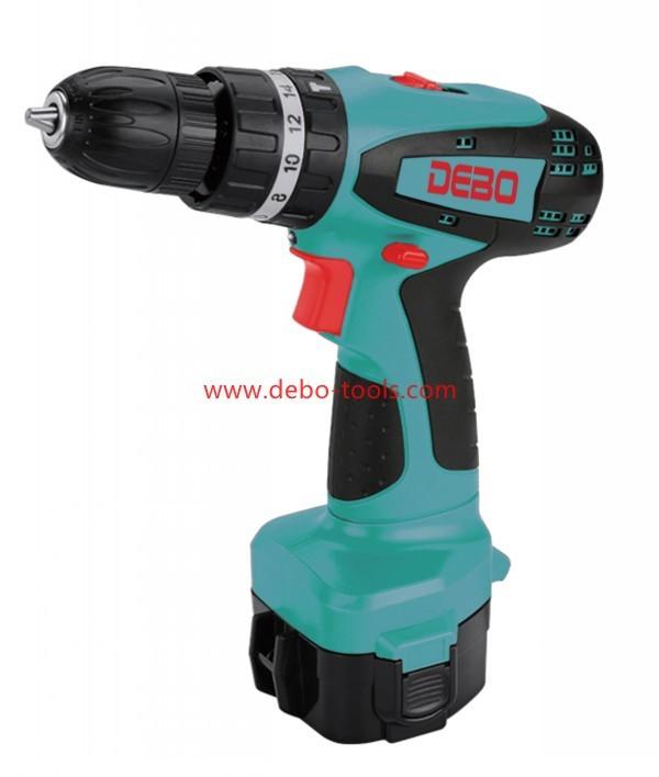 12V/14.4V/18V Ni-Cd Battery Cordless Hammer Drill