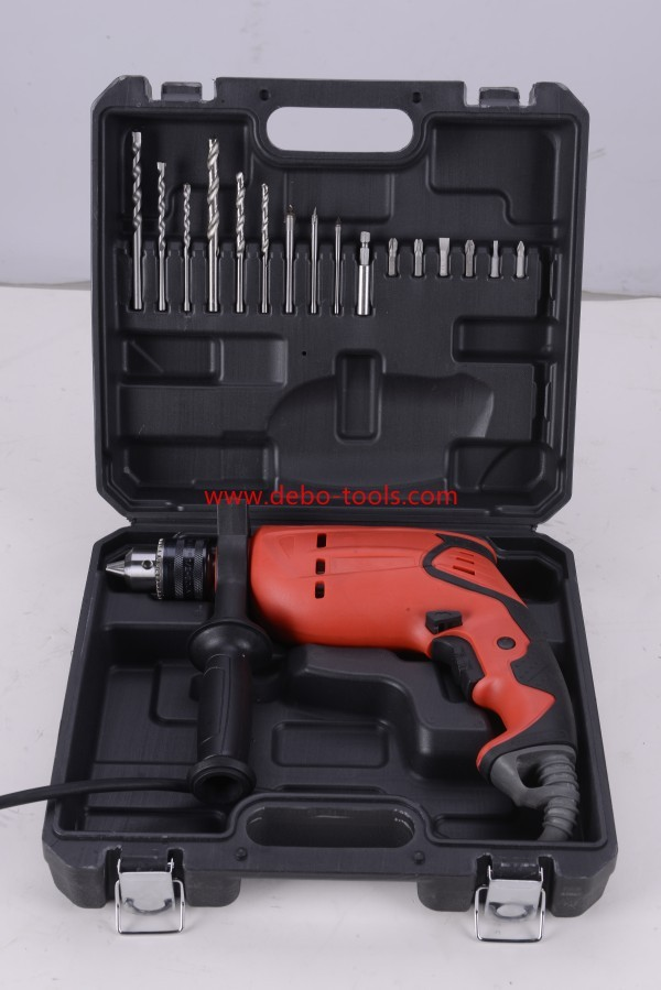 Impact Drill with bmc and complete accessories.