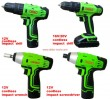 Cordless Impact Drill/Screwdriver/Wrench